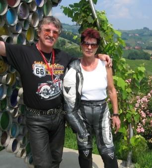 Peter und Ingrid - Ausflug mit dem Bike