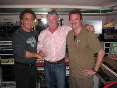 Im CM-Studio Feldbach v.l.n.r.: Walter Reischl, Peter Reicher, Christian Maier