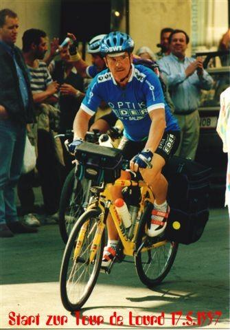 1. Tour de Lourdes: Start am Samstag, den 17. Mai 1997