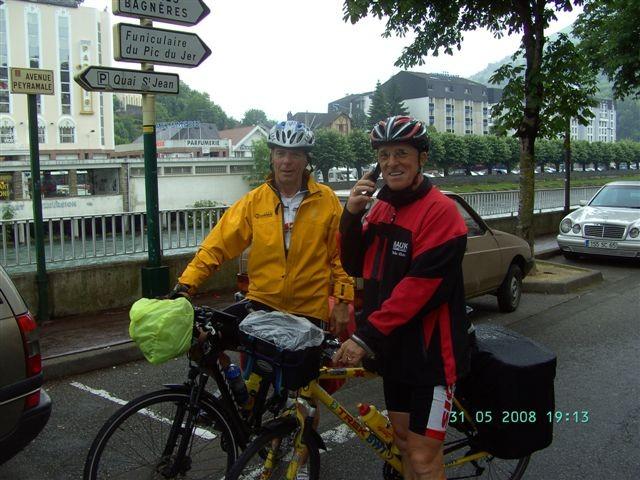 2. Tour de Lourdes 2008 - Nach 13 Tagesetappen und rund 2000 km in Lourdes angekommen