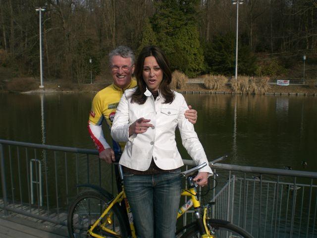 """Fernseh-Aufzeichnung des ORF vom 28.2.2008, am Grazer Hilmteich - Interview für       """"Vera-Exklusiv"""" anlässlich der 2. Tour de Lourdes"""
