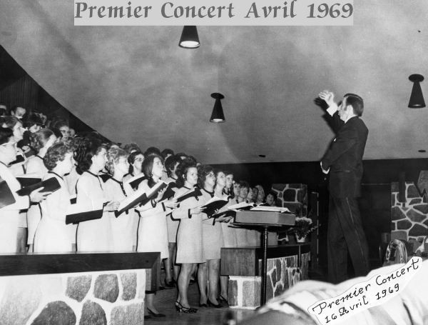 Premier concert Avril 1969