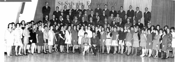 St-Sylvain, Février 1969