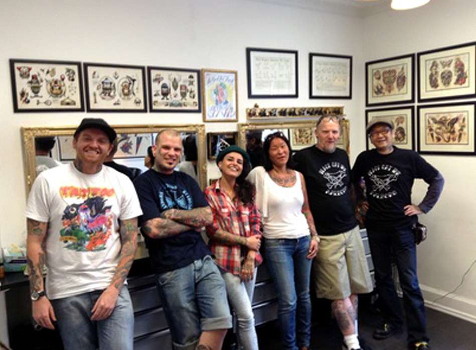 at Black Cat Ink (Aalborg Denmark) 2013