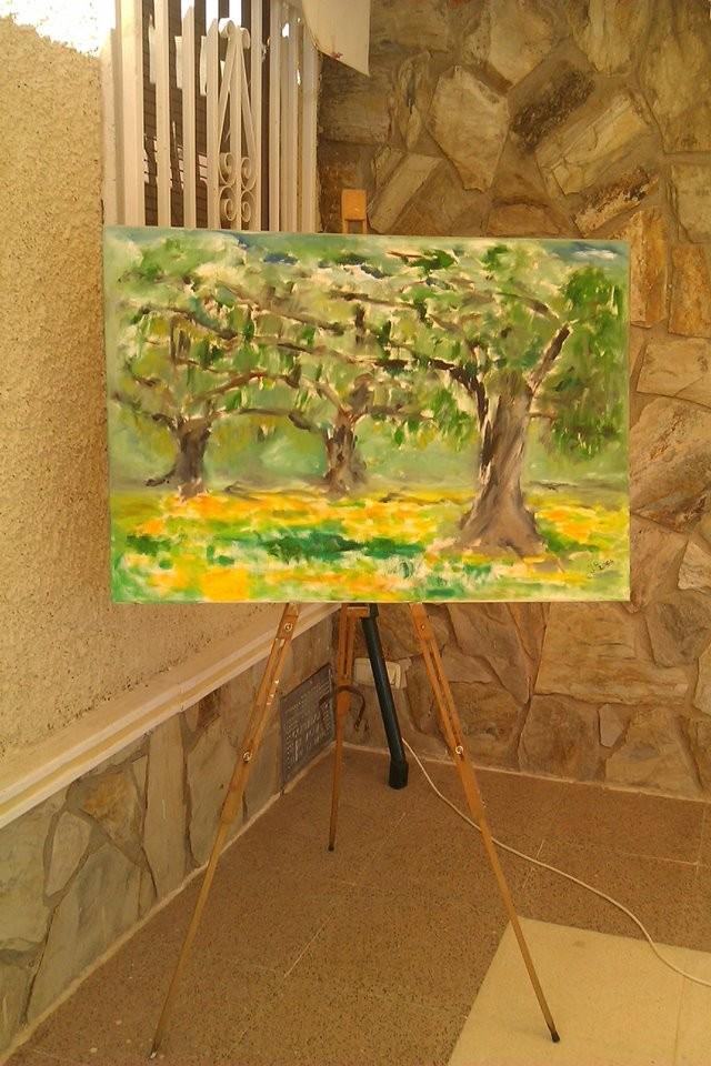 Malen und Zeichnen auf der Finca - in Planung