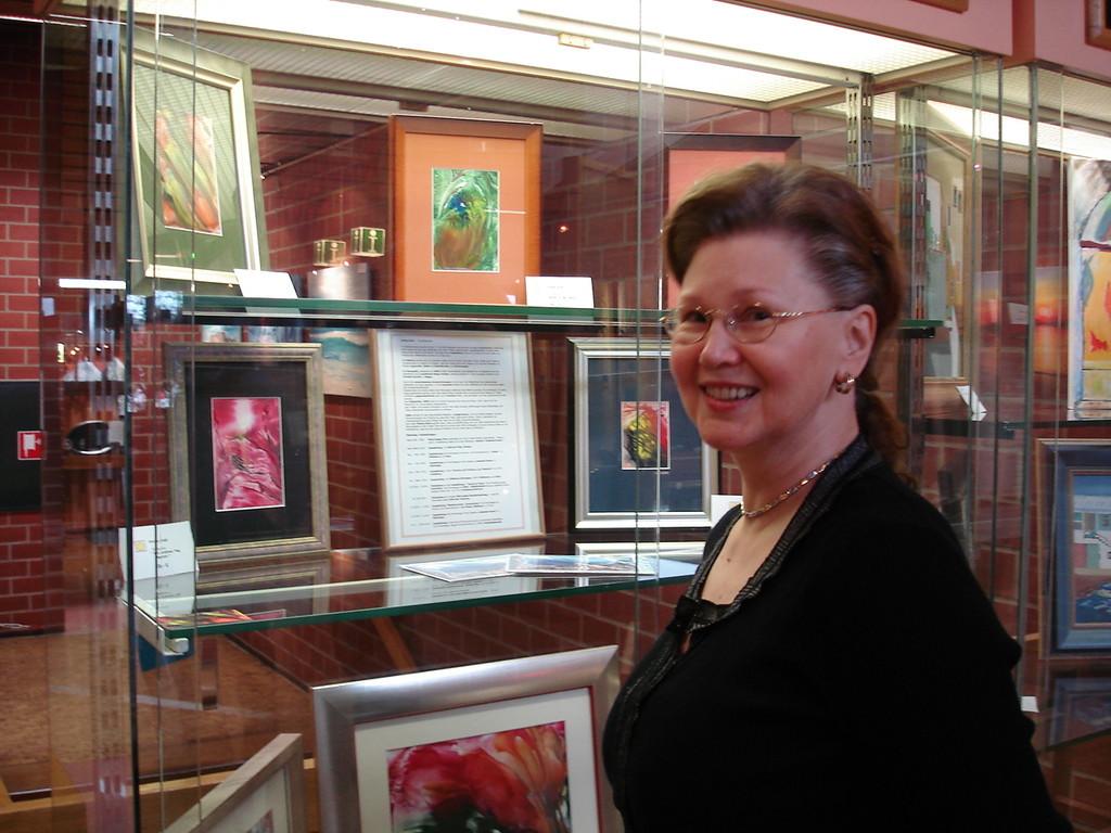 Ulrike Kröll: Autorin, Kunstmalerin (Encaustik)