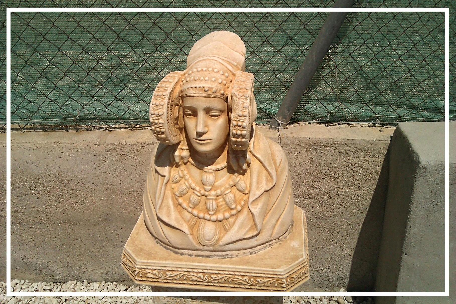La Dama de Elx, vorchristliche Schutzherrin der Palmen