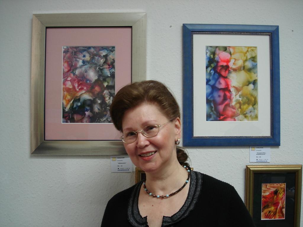 Die Kunstlerin Ulrike Kröll