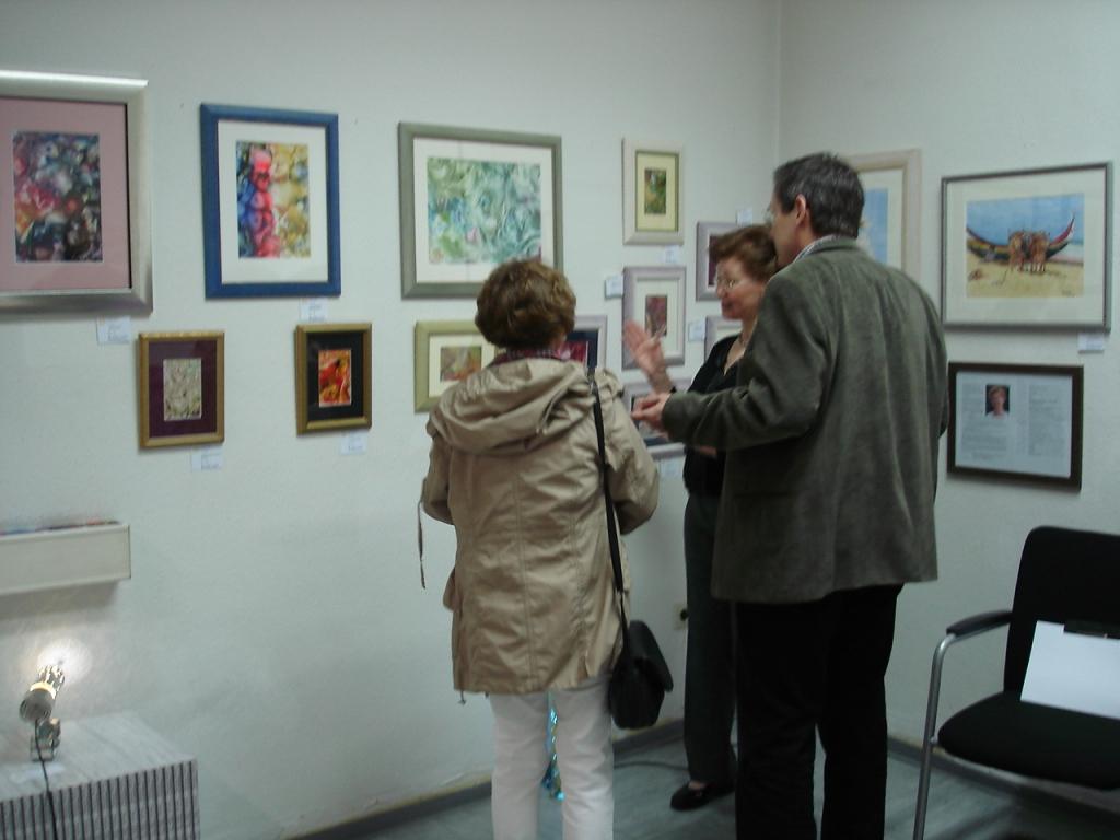 Enkaustik-Bilder und Werke in Pastellkreide von Ulrike Kröll