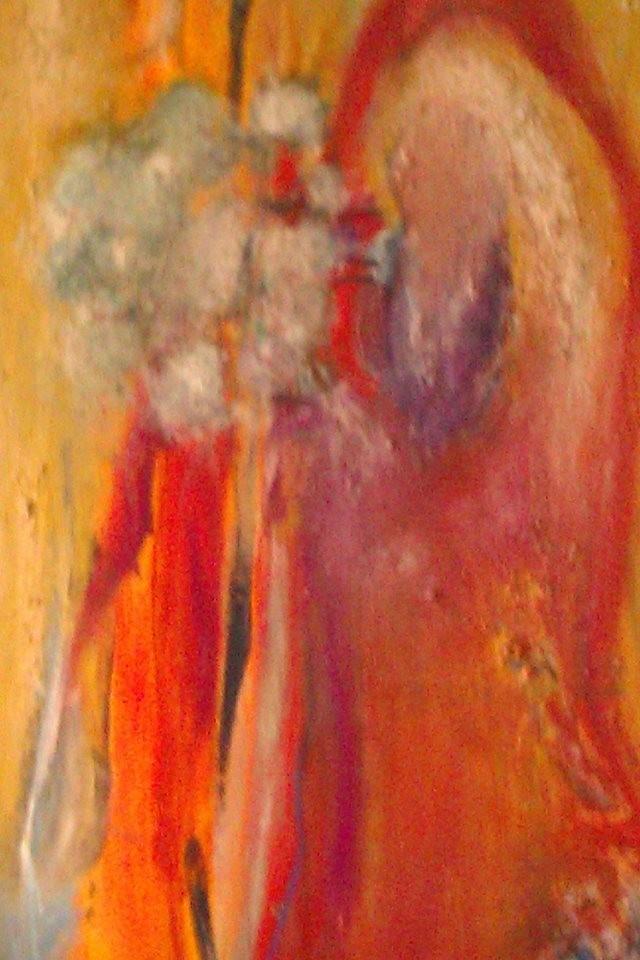 Halbabstrakte Malerei