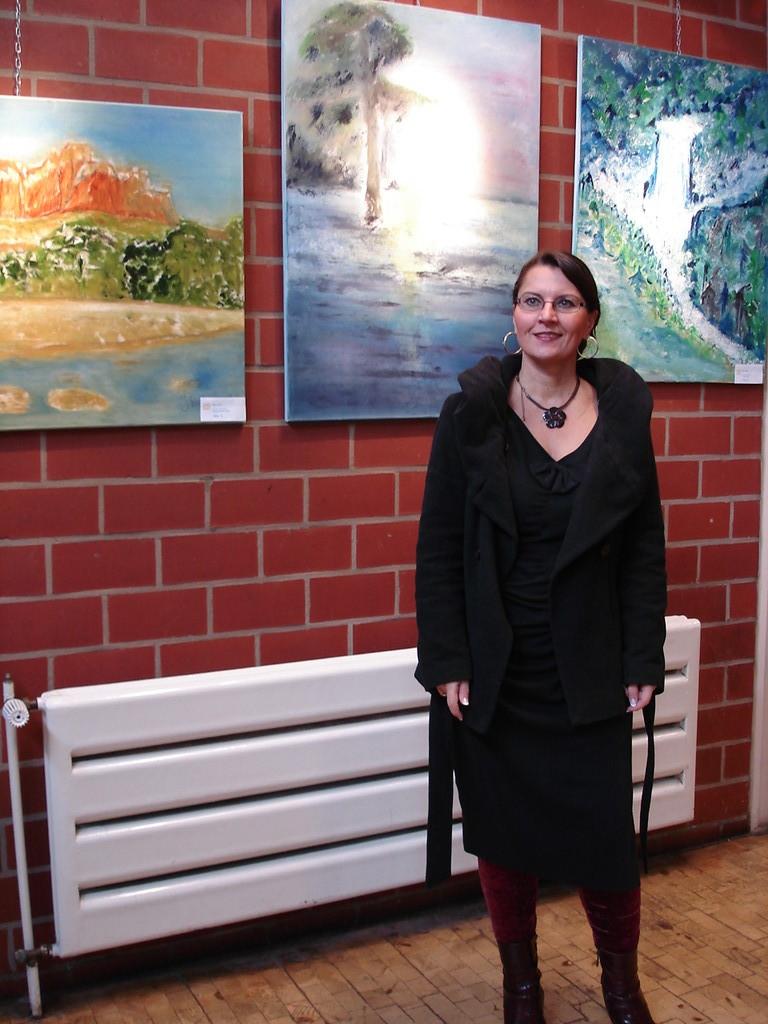 Jana Paul: Vernissage im Freizeithaus Waldhof am 08.01.2012