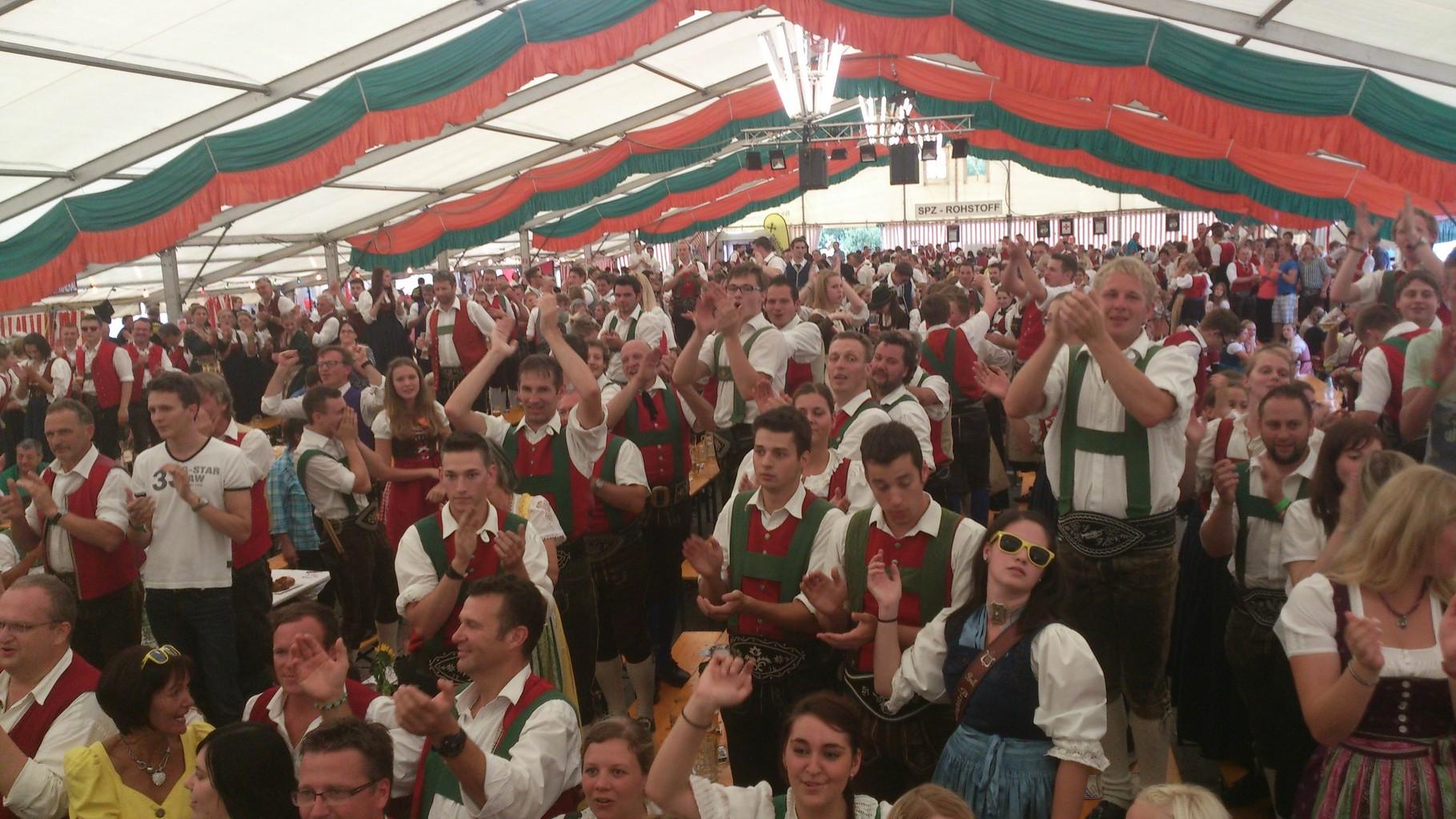 BMK Kirchbichl rockt das Festzelt