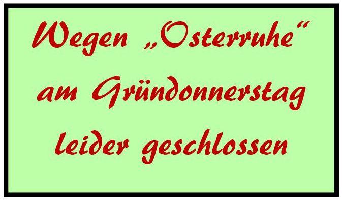 Osterruhe
