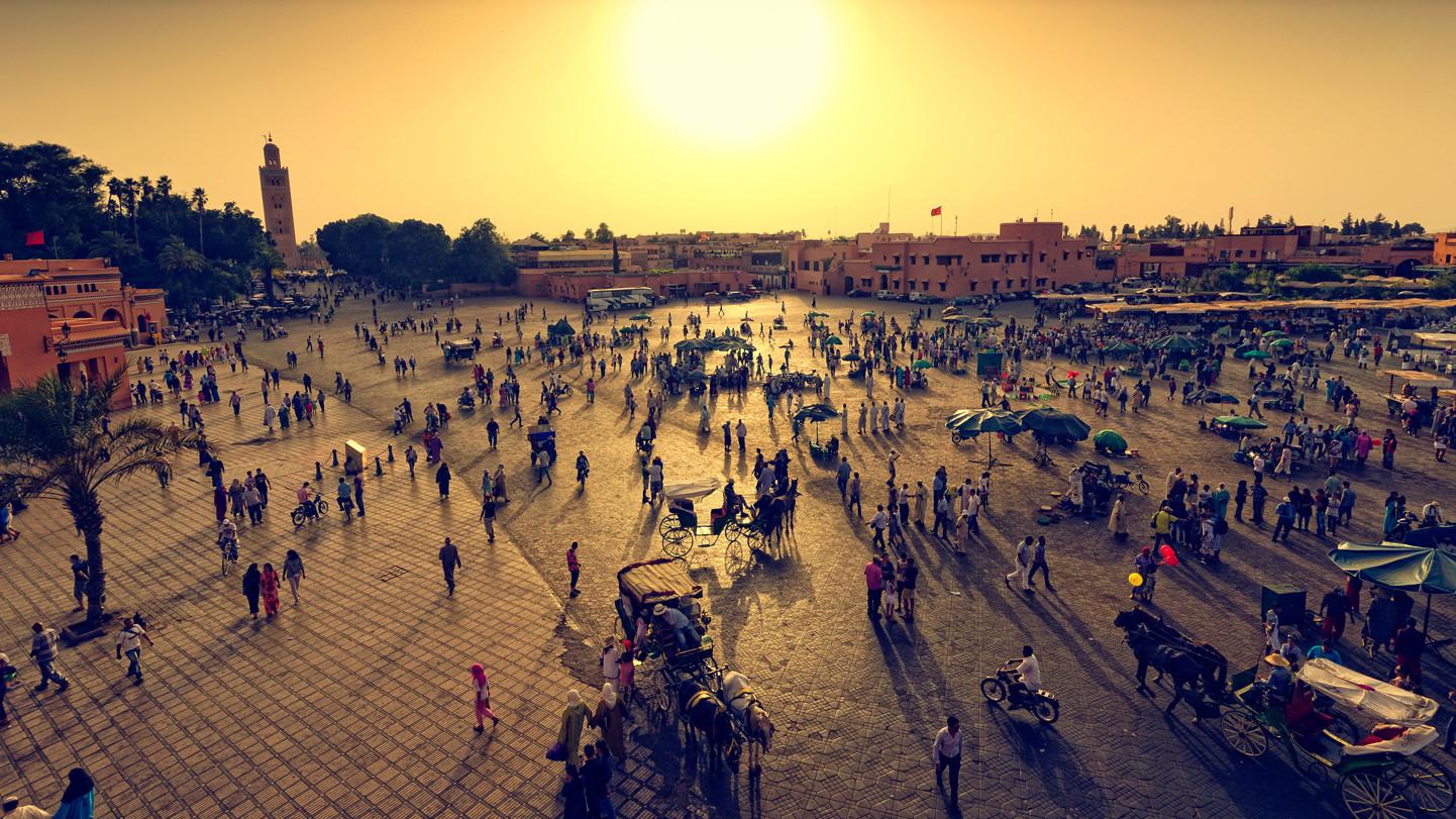 Marrakech (Googled image)