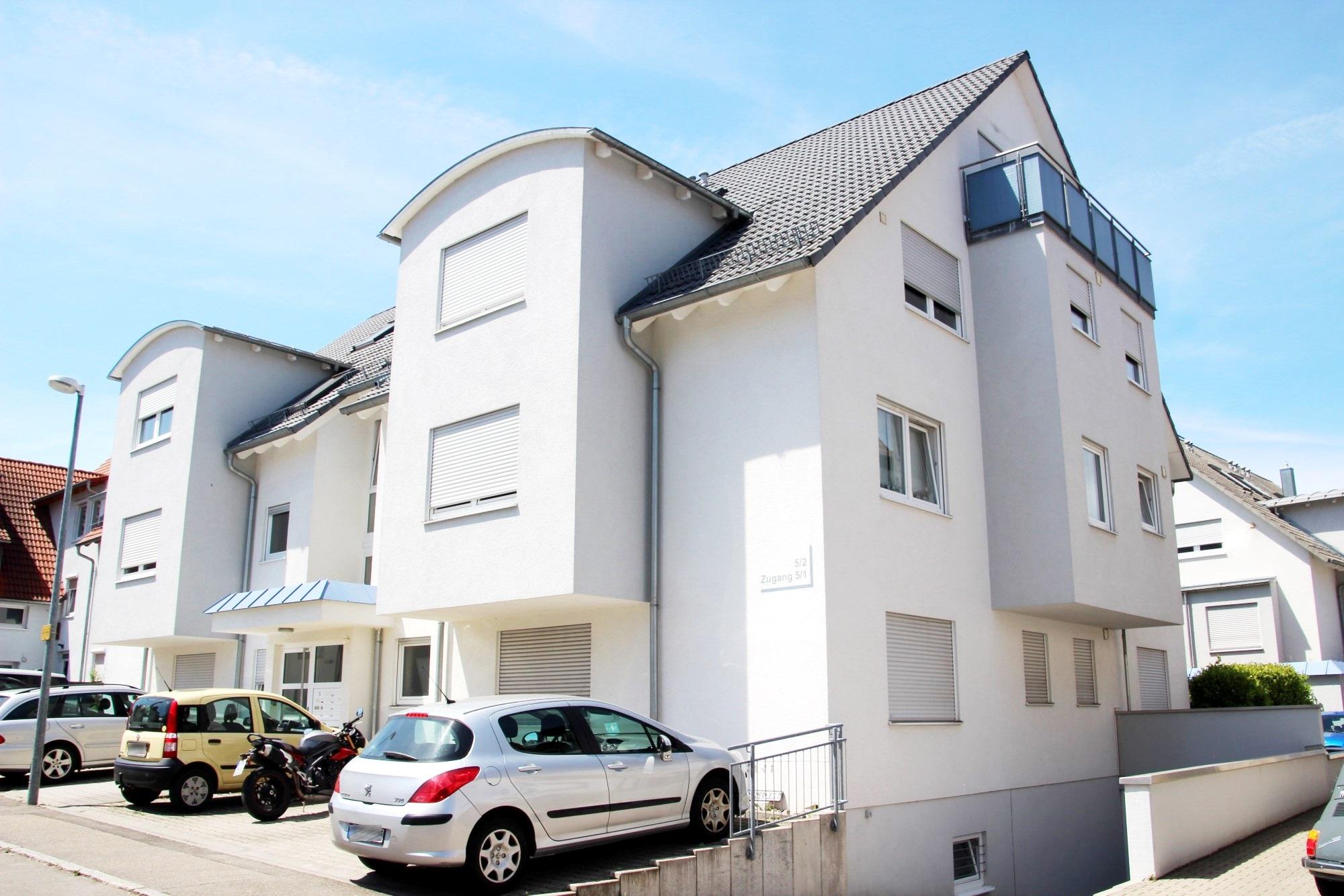 2005 | 2. Bauabschnitt 9-Familienhaus Mäuerlesstraße in Magstadt , Architekt Dipl. Ing. U. Gehrer