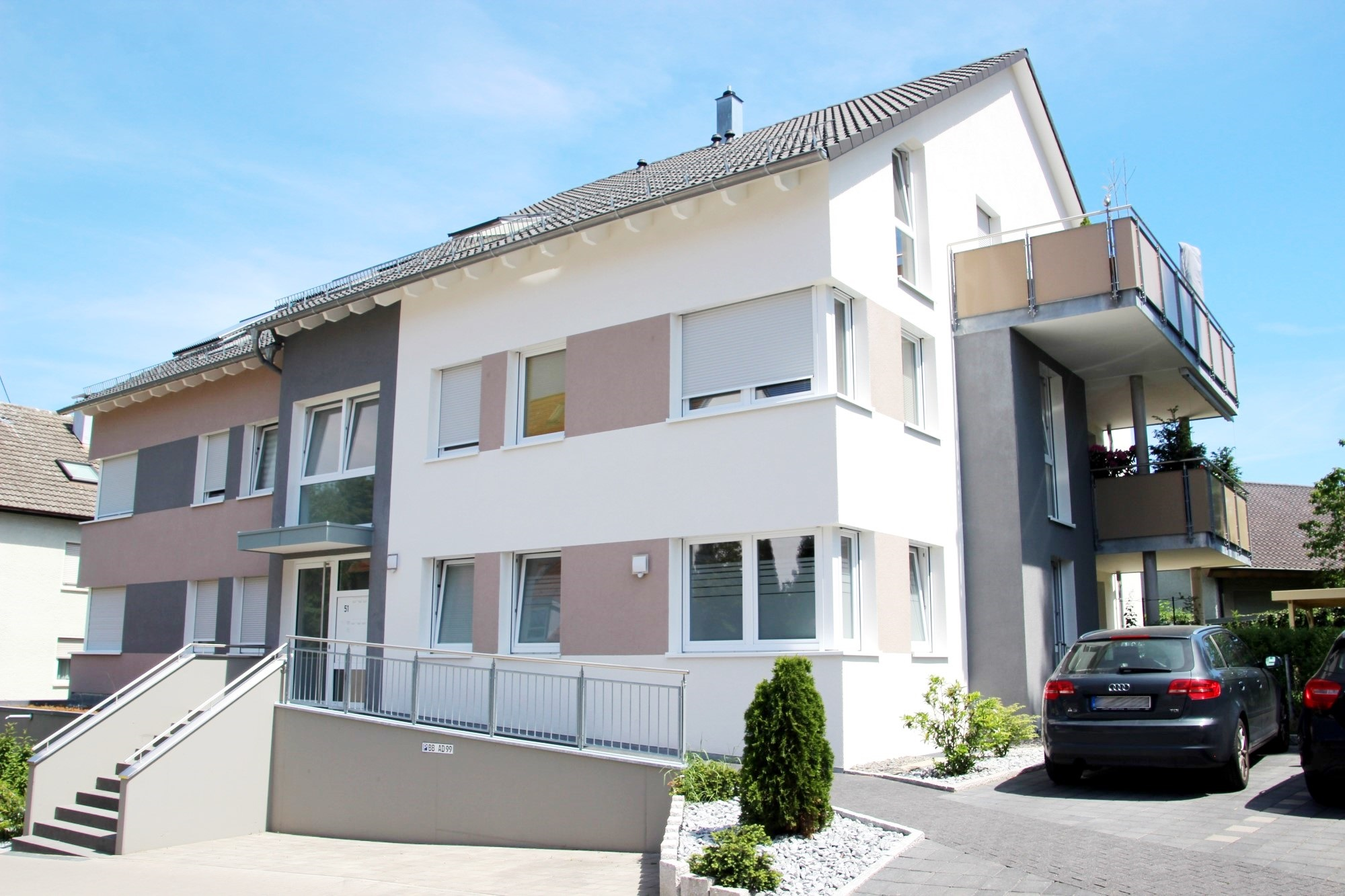 2014 | 5-Familienhaus Maichingerstraße in Magstadt, Architekt Dipl. Ing. Sandra Rapino