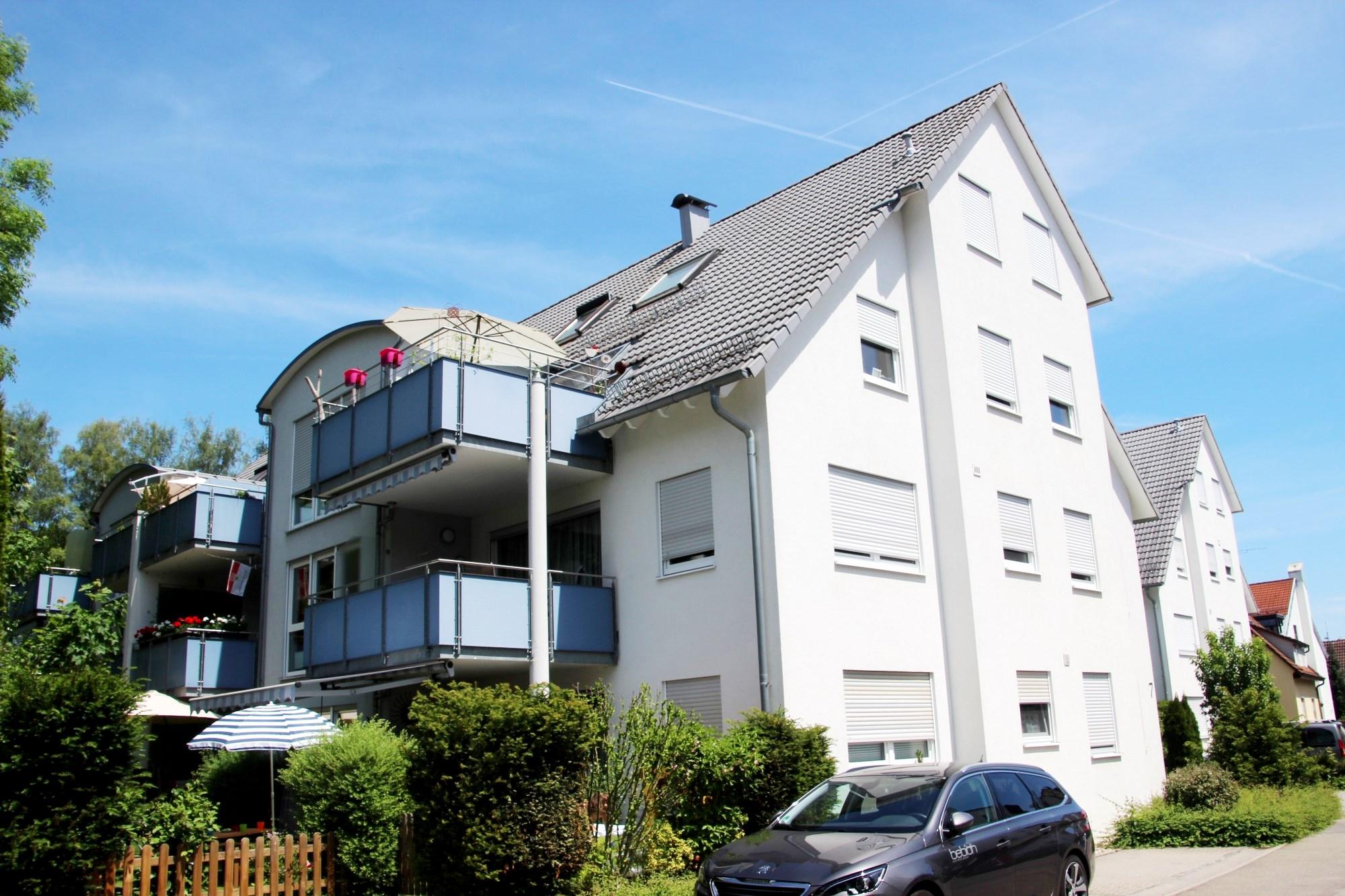 2006 | 1. Bauabschnitt 9-Familienhaus Pfadstraße in Sindelfingen-Maichingen, Architekt Dipl. Ing. U. Gehrer