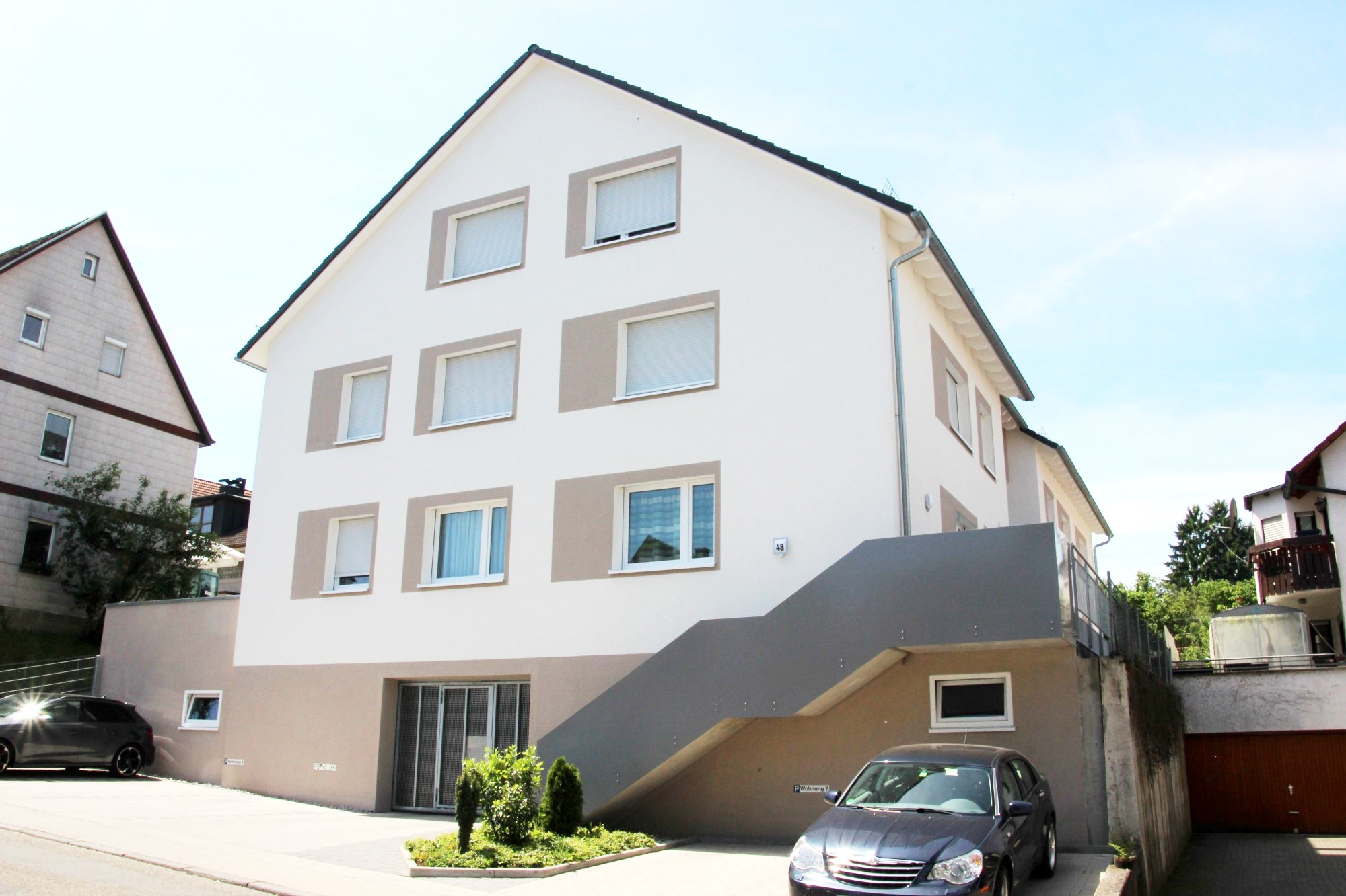 2017 | 8-Familienhaus Maichingerstraße in Magstadt, Architekt Dipl. Ing. Sandra Rapino
