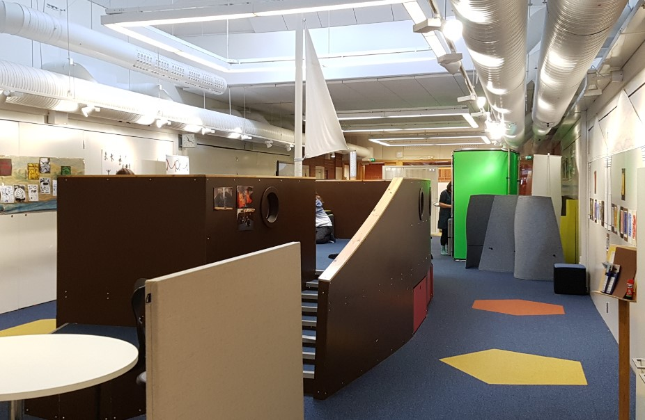 Flexible learning environment at Teacher Training School Linnanmaa Oulu Finland