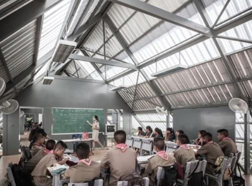 Earthquake proof Baan Huay Sam Yaw School Thailand