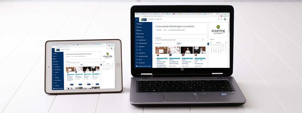 Der Online-Campus: Die zentrale Lernplattform des Fernstudiums