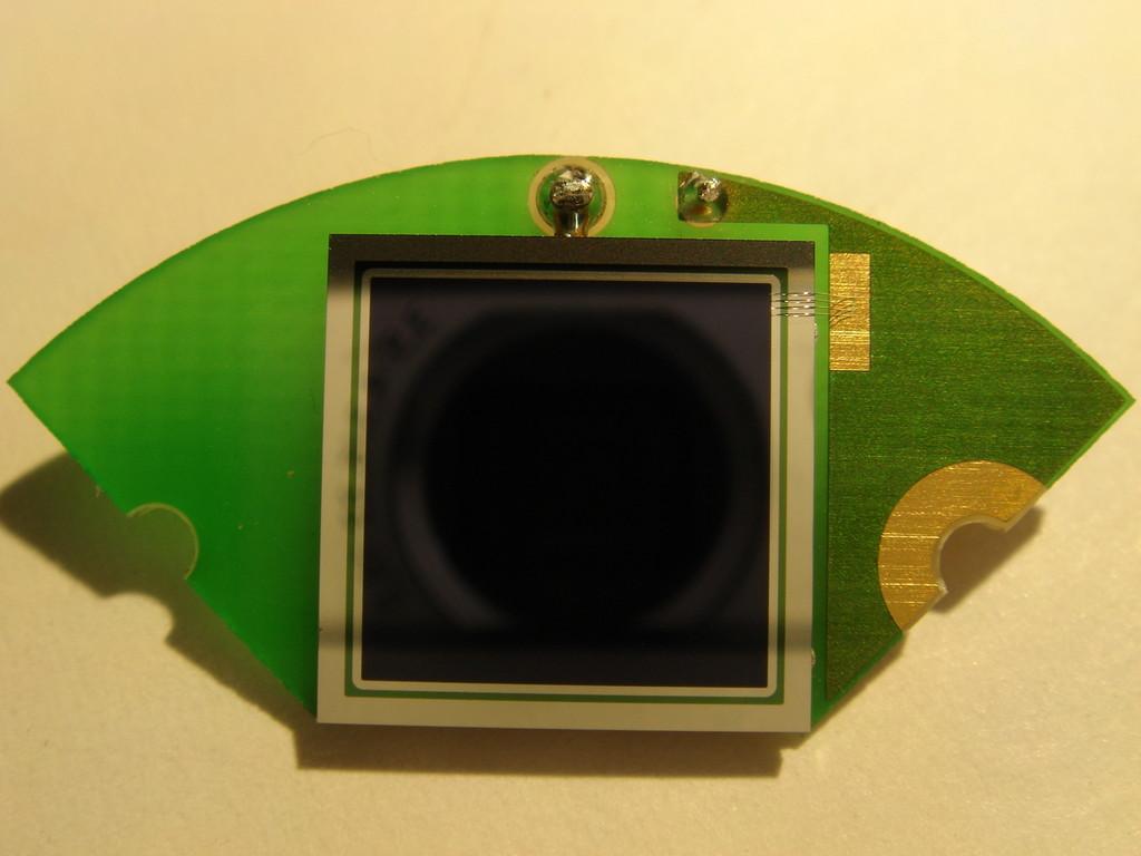 Unser Beitrag zur Nasa-Marsmission - Photodiode auf Sonderträger
