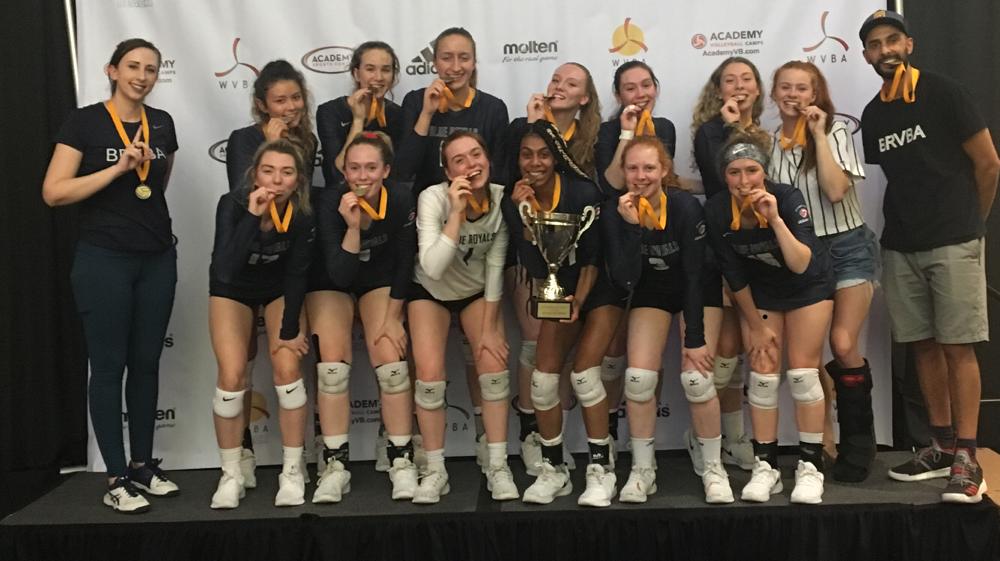 U18's - Emerald City Classic Winners Club - Bite their medals !