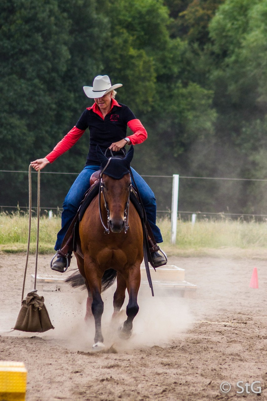 bei der Cowboy-Challenge
