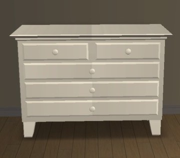 Recoloration Commode Werkbunnst