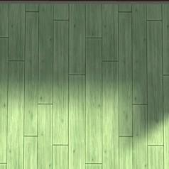 5 Parquet cérusé vert