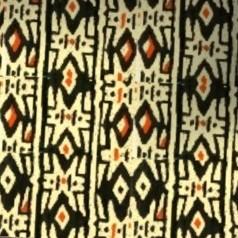 1  Moquette motif Africain