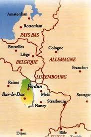 la Meuse aux frontières de la Belgique et du Luxembourg