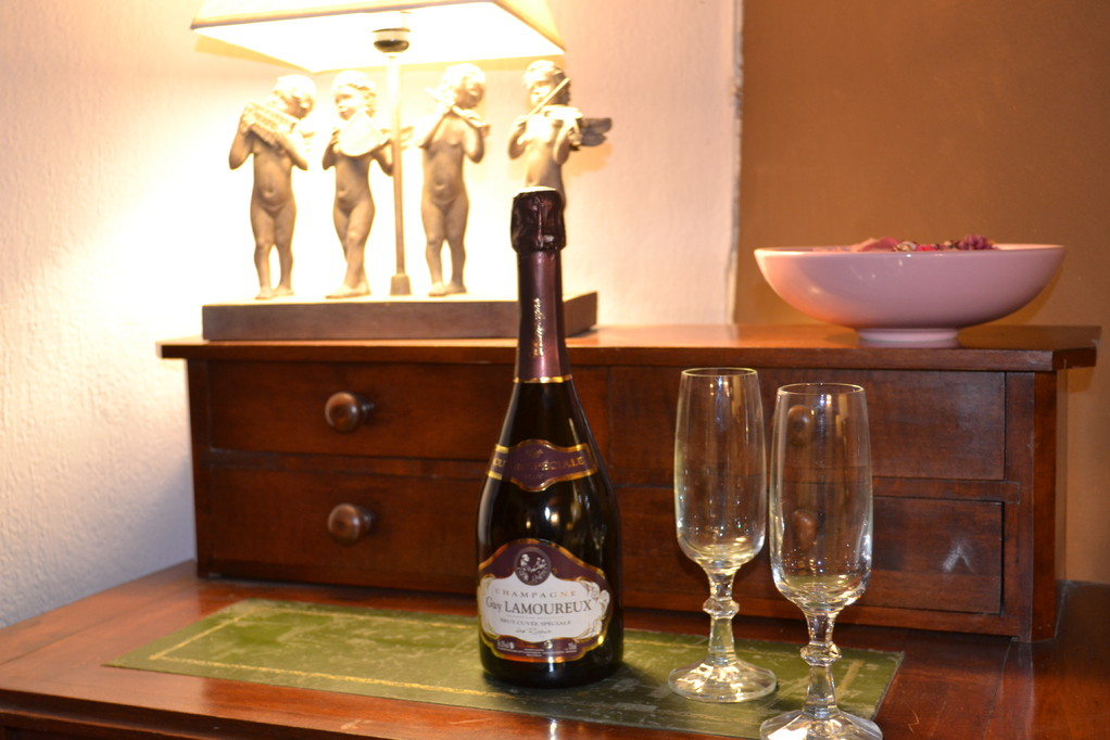 Le champagne sur commande