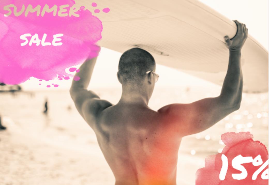 Summer Sale bei Bertram | Sans