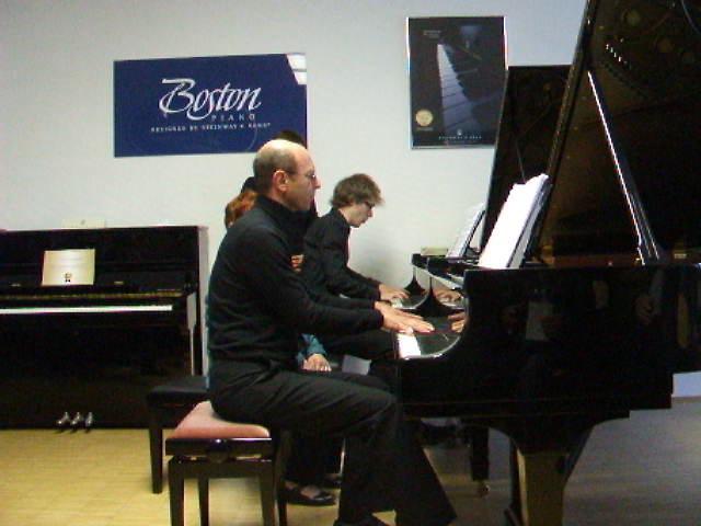 Beethoven Sinfonie Nr.5 1.Satz in meiner Bearbeitung für 2 Klaviere
