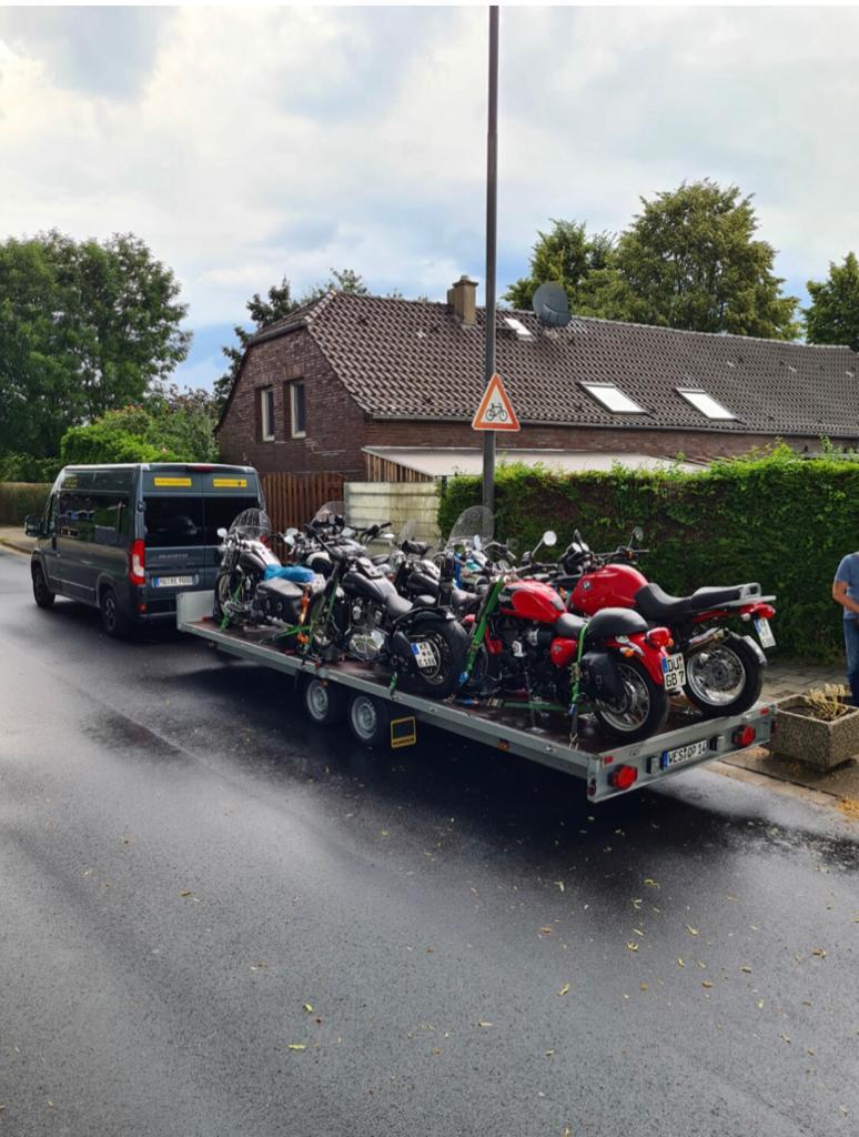 Motorrad Gruppenreise selber fahren