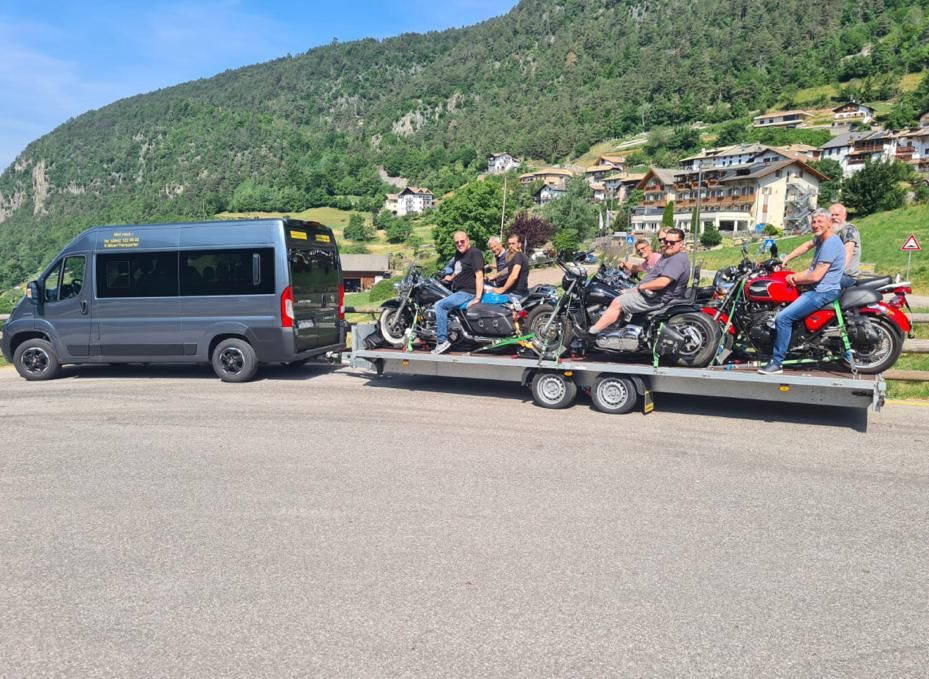 Gruppenreise Motorrad