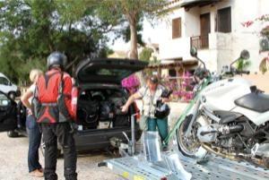 Motorradurlaub Sardinien