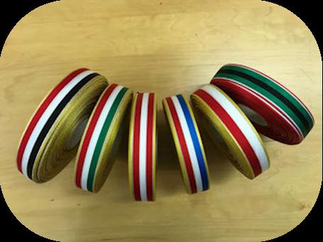 Tournament ribbons