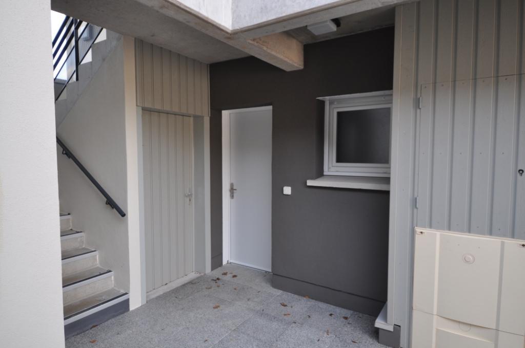 Portes extérieures cellier et appartement