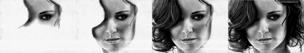 Sarah Wayne Callies (Sarah TANCREDI) - Fusain/Charcoal - A4 - Janvier 2012