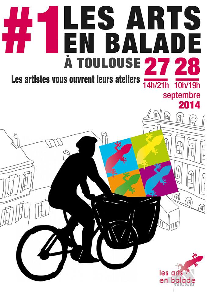 Essai affiche Les Arts en Balade à Toulouse 2013