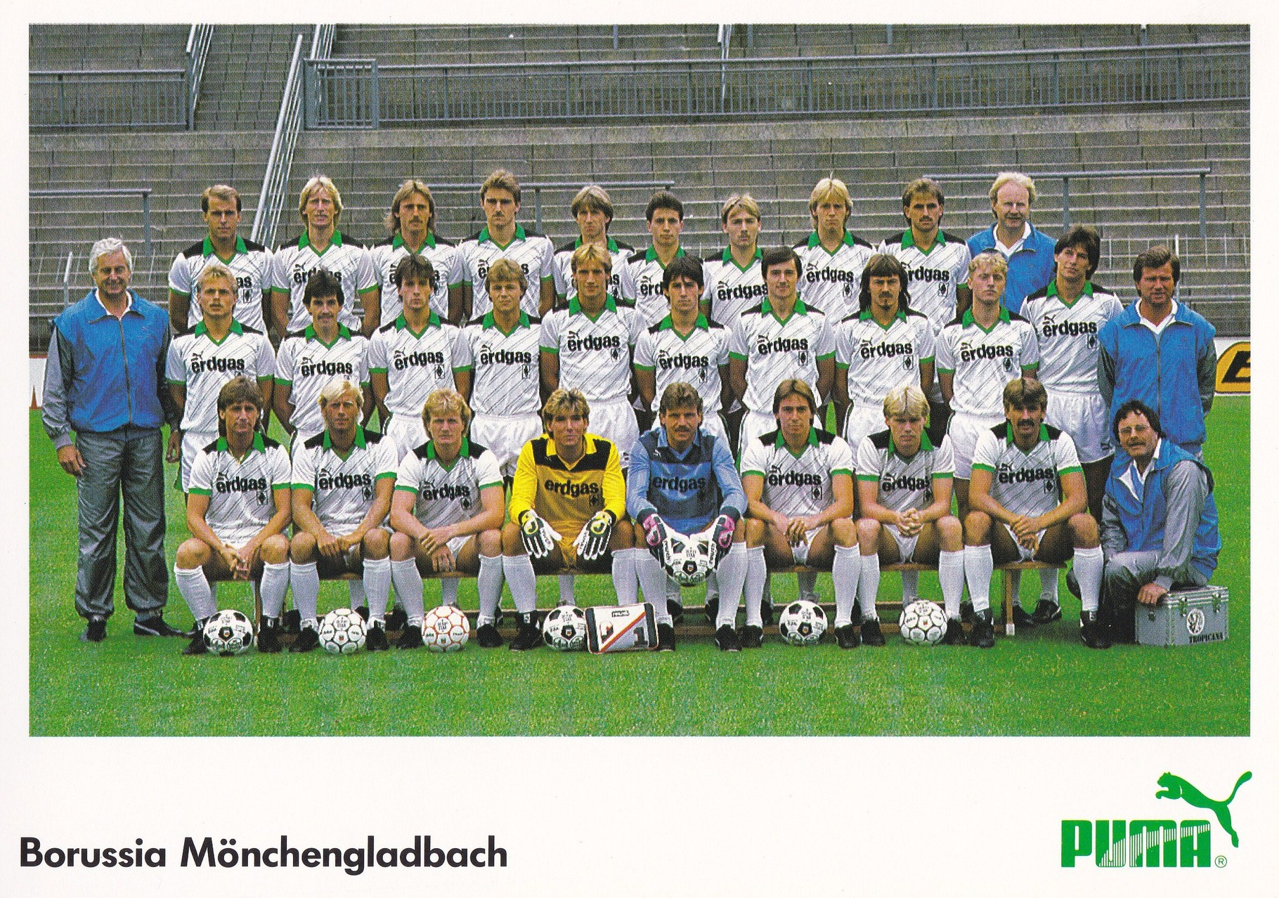 Die saison 1985 86 in zahlen for Dt bundesliga tabelle