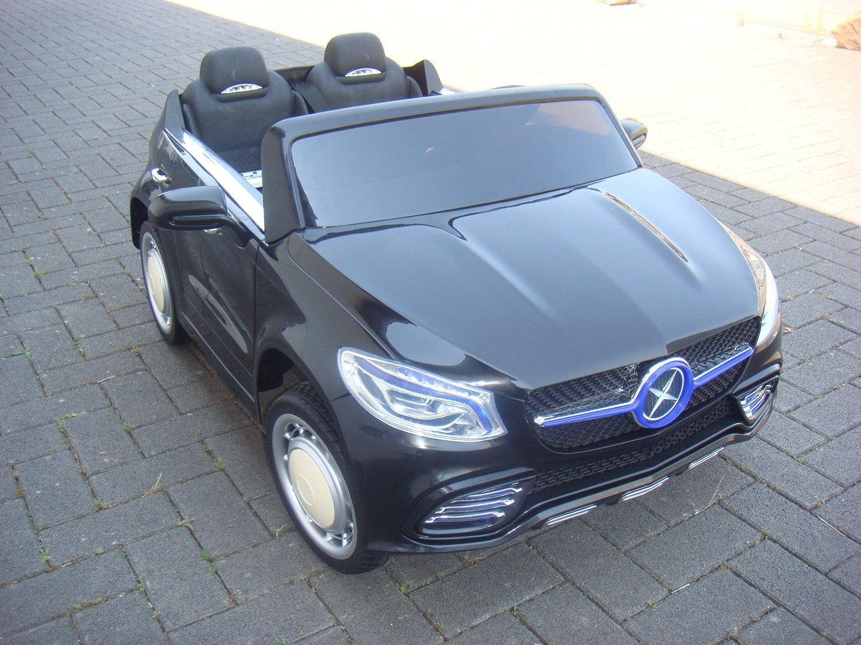 kinderauto mit 24 volt schwarz doppelsitzer kinderauto. Black Bedroom Furniture Sets. Home Design Ideas