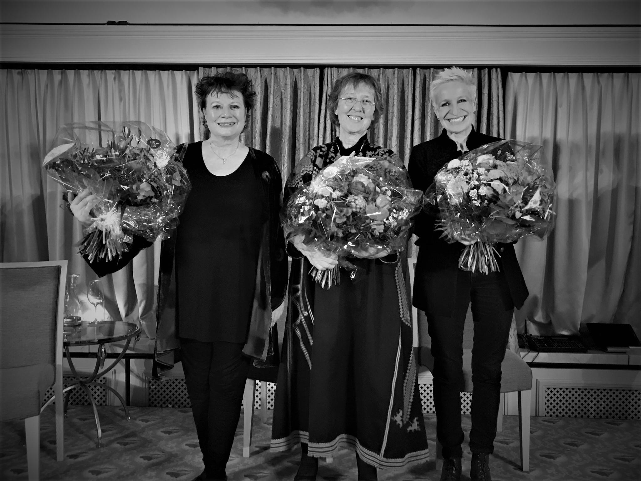 Regula Küffer, Annemarie Mühlemann und Nina Dimitri, Beatus