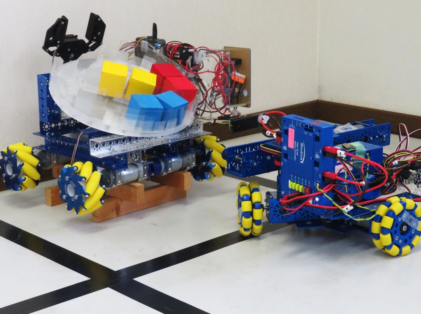 Cobra Line Follower Sensorをロボットに取り付けて走行しました!