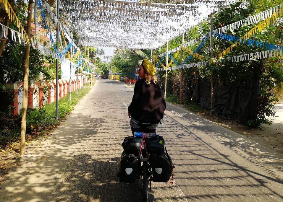Une route normale au Kerala
