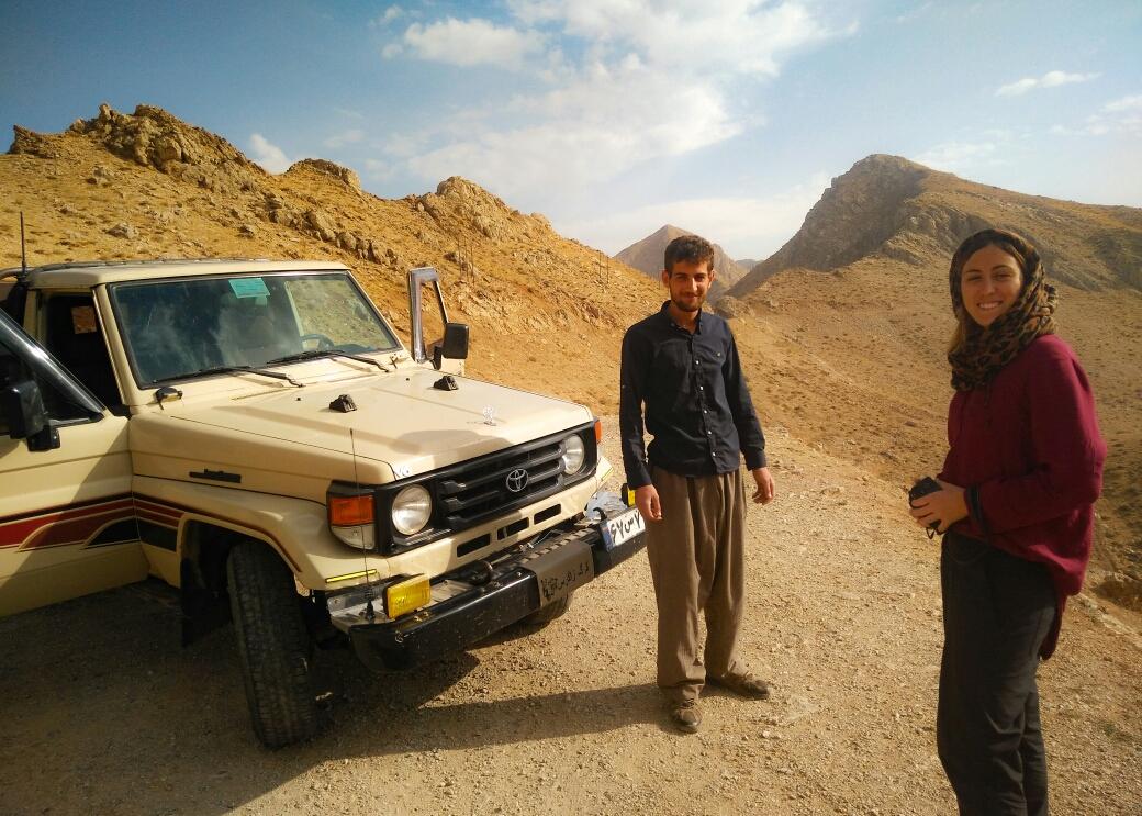 Vers l'Irak avec le frère de Sarkaw.