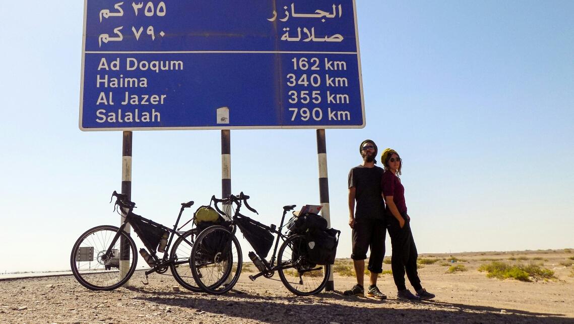 On a traversé les dunes mais on n'est pas encore arrivés à Salalah !