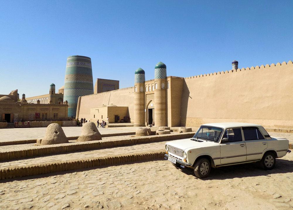 Les lada, typiques de l'Asie centrale sont toujours là !